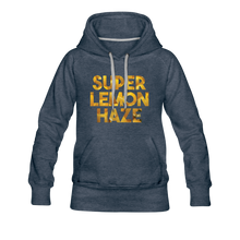 Load image into Gallery viewer, Women's Super Lemon Haze Hoodie - heather denim