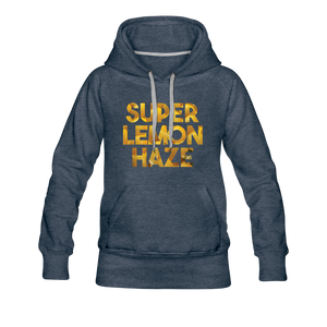 Women's Super Lemon Haze Hoodie - heather denim