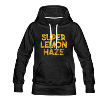 Load image into Gallery viewer, Women's Super Lemon Haze Hoodie - charcoal gray