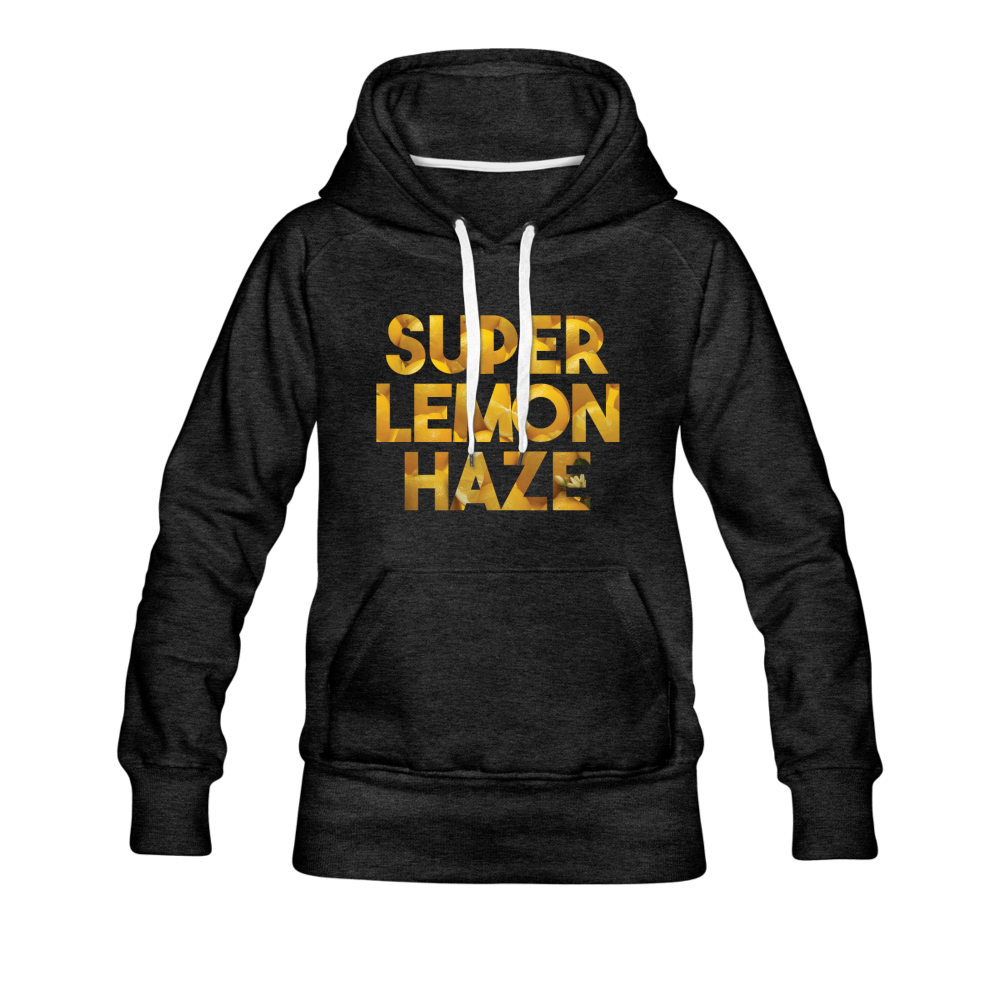 Women's Super Lemon Haze Hoodie - charcoal gray