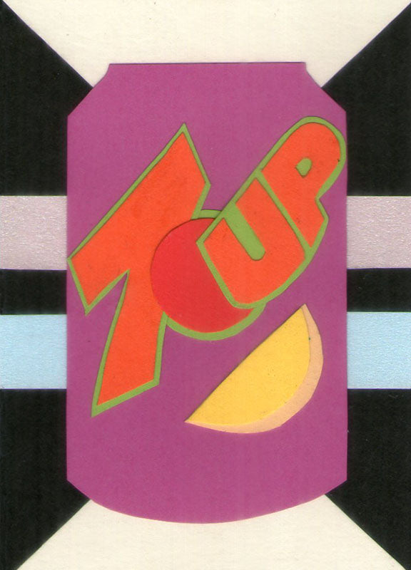 7 Up Pop Art Artist Trading Cards Design