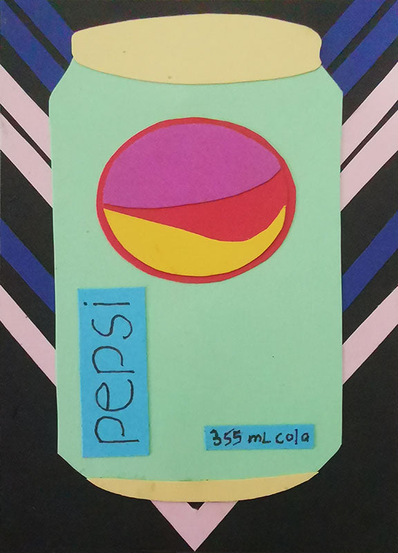 Pepsi Pop Art Artist Trading Cards Design