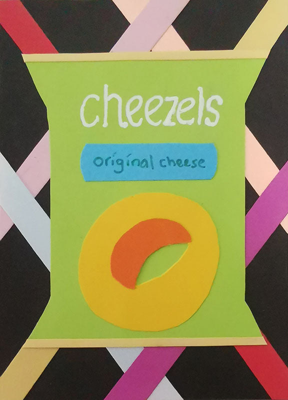 Cheezels Pop Art Artist Trading Cards Design
