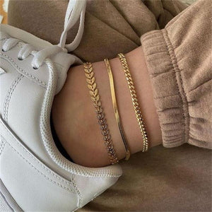 Gold Anklet - High Lash Darling