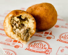 Load image into Gallery viewer, Cheesesteak Riceball