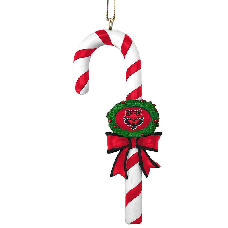 Candy Cane Ornament Arkansas State
