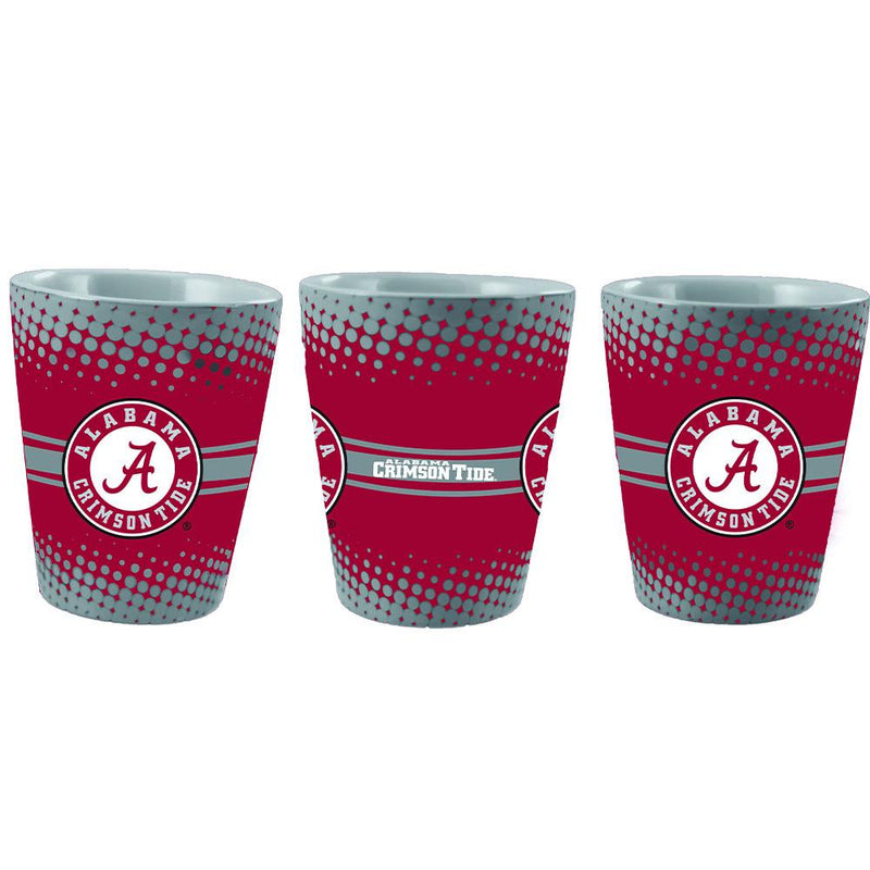Full Wrap 2oz Glass | University of Alabama