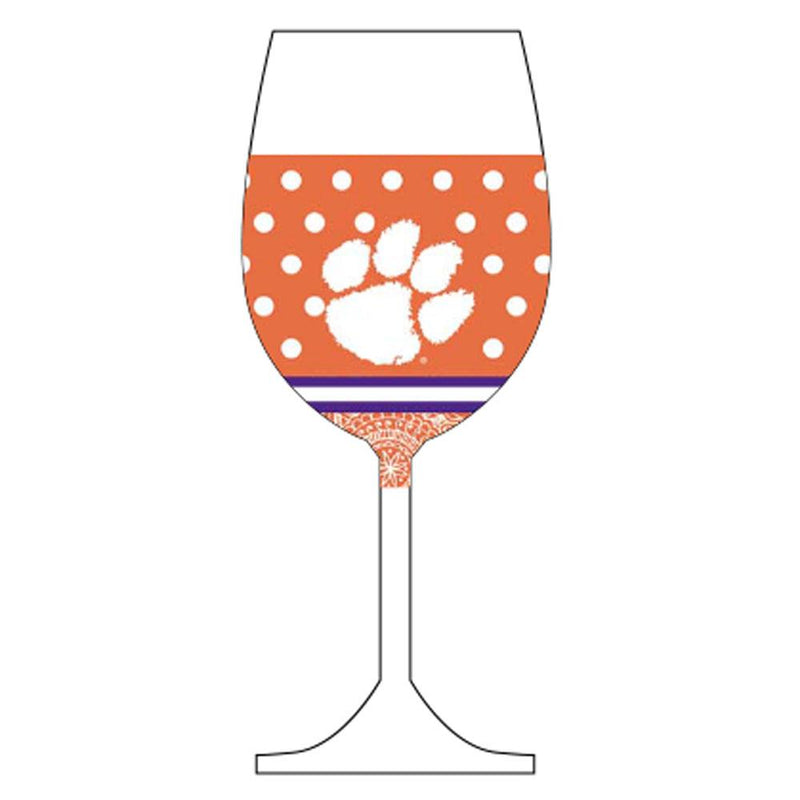 Wine Glass Woozie GG Clemson