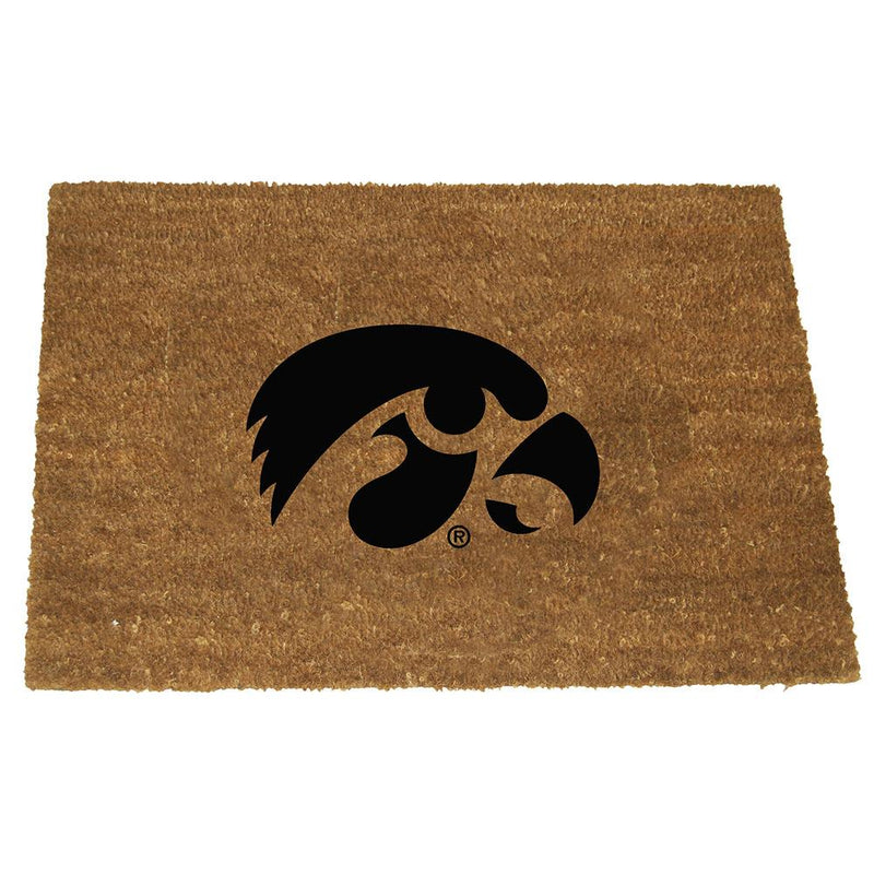 Colored Logo Door Mat Iowa