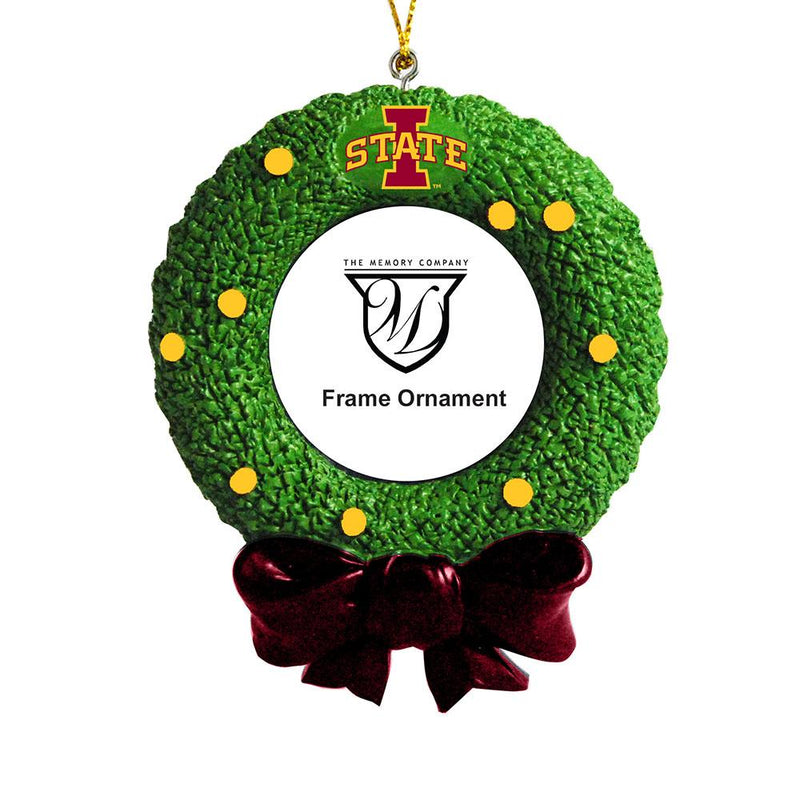 Wreath Frame Orn Iowa St