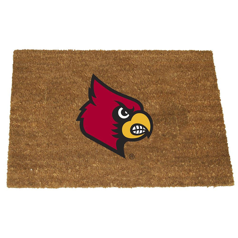 Colored Logo Door Mat Louisville