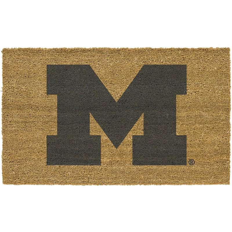 Colored Logo Door Mat Michigan