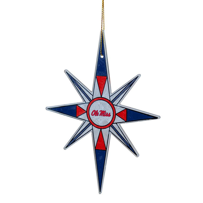 2015 Snow Flake Orn Ole Miss