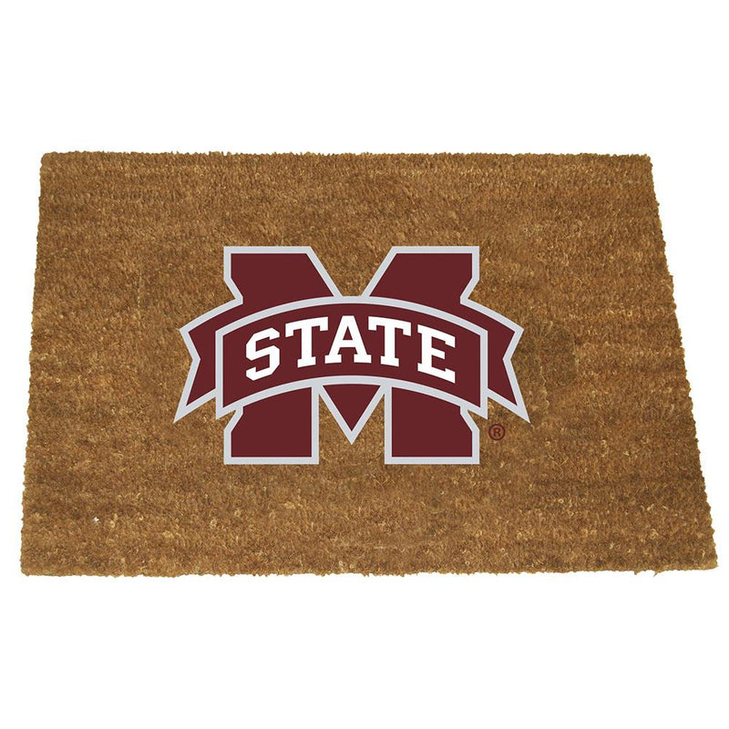 Colored Logo Door Mat Mississippi St