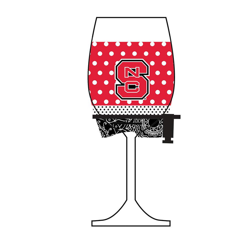 Wine Glass Woozie GG N Carolina St