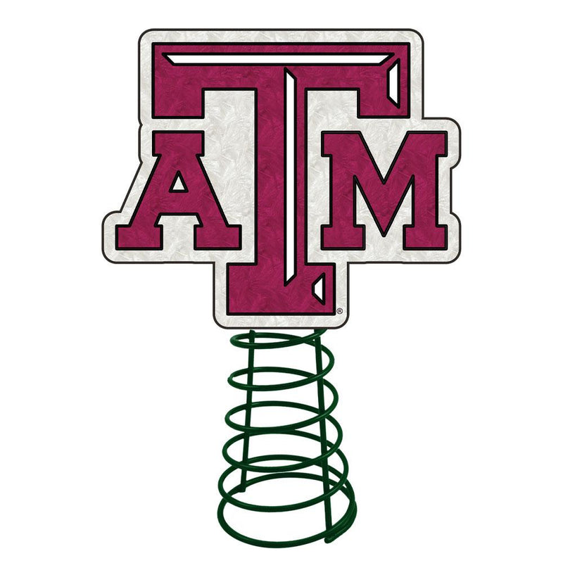 Logo Tree Topper Texas A&M
