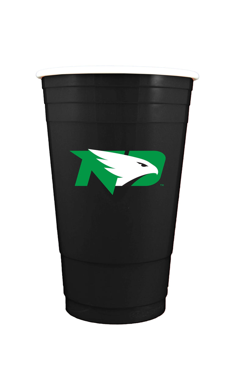 Black Plastic Cup 11OZ NORTH DAKOTA