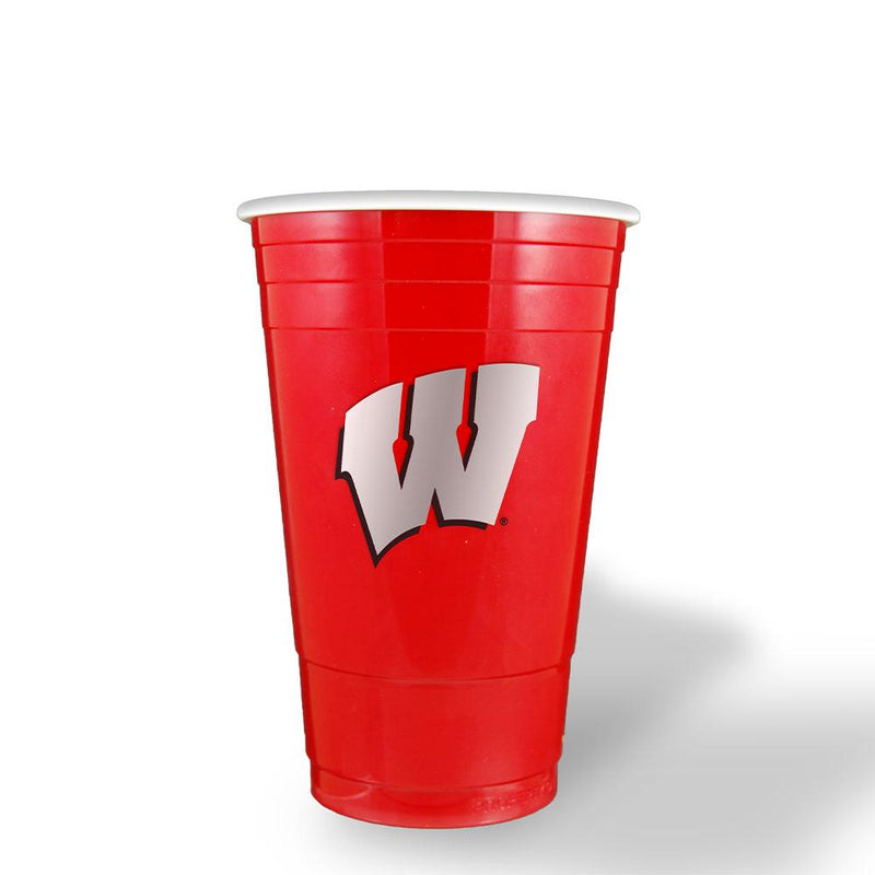Red Plastic Cup Wisconsin