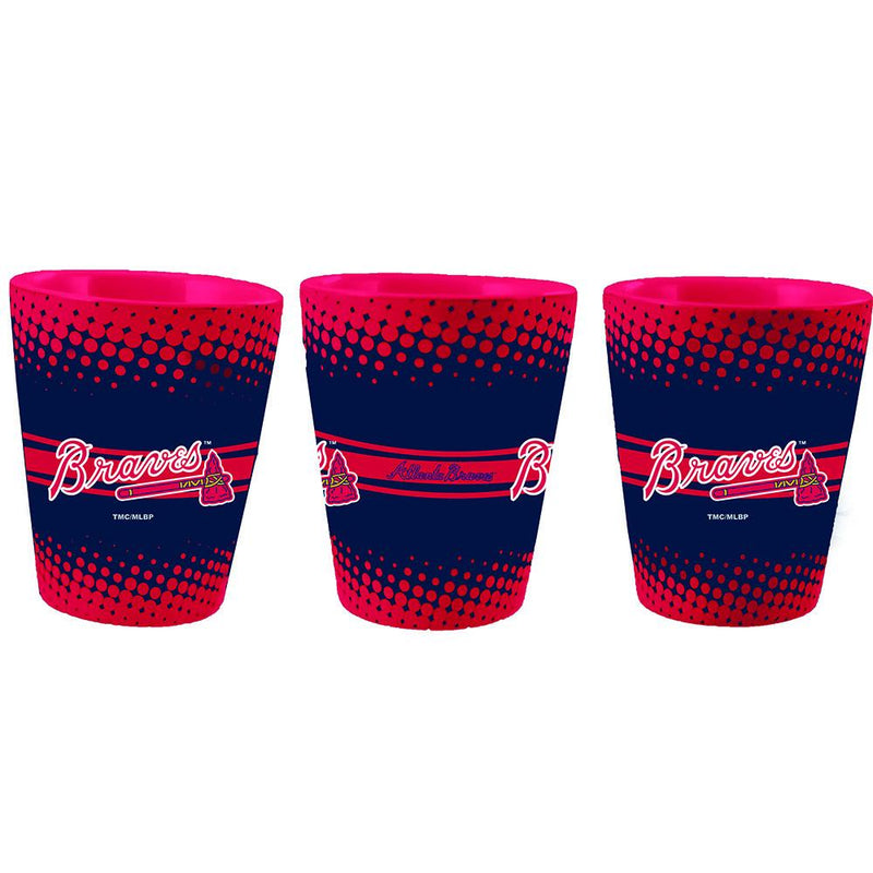Full Wrap Collector Glass | Atlanta Braves