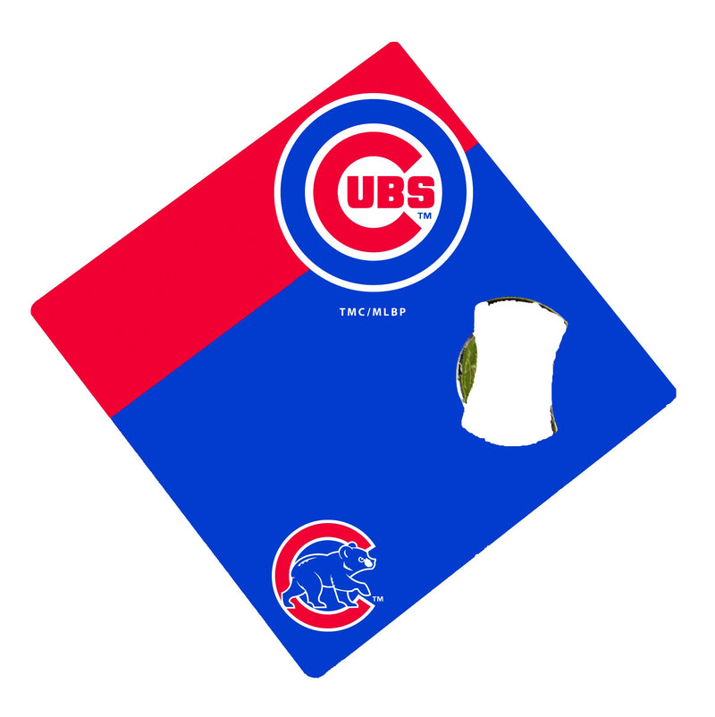 Bottle Opener Coaster | Chicago Cubs