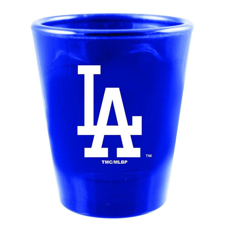 Swirl Color Collector Glass | Los Angeles Dodgers