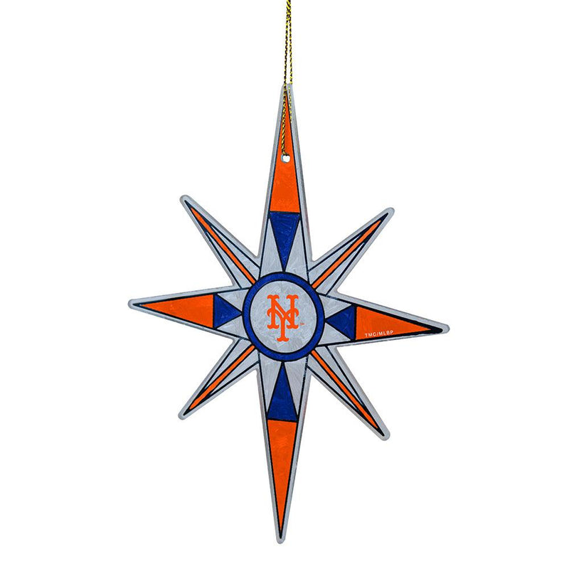 2015 Snow Flake Orn Mets
