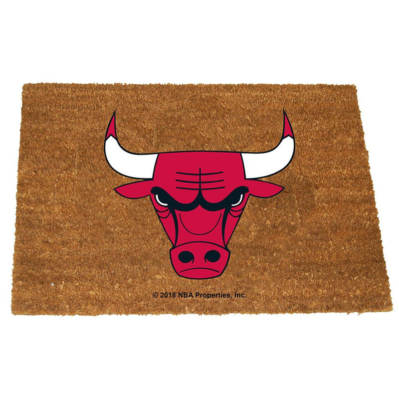 Colored Logo Door Mat BULLS