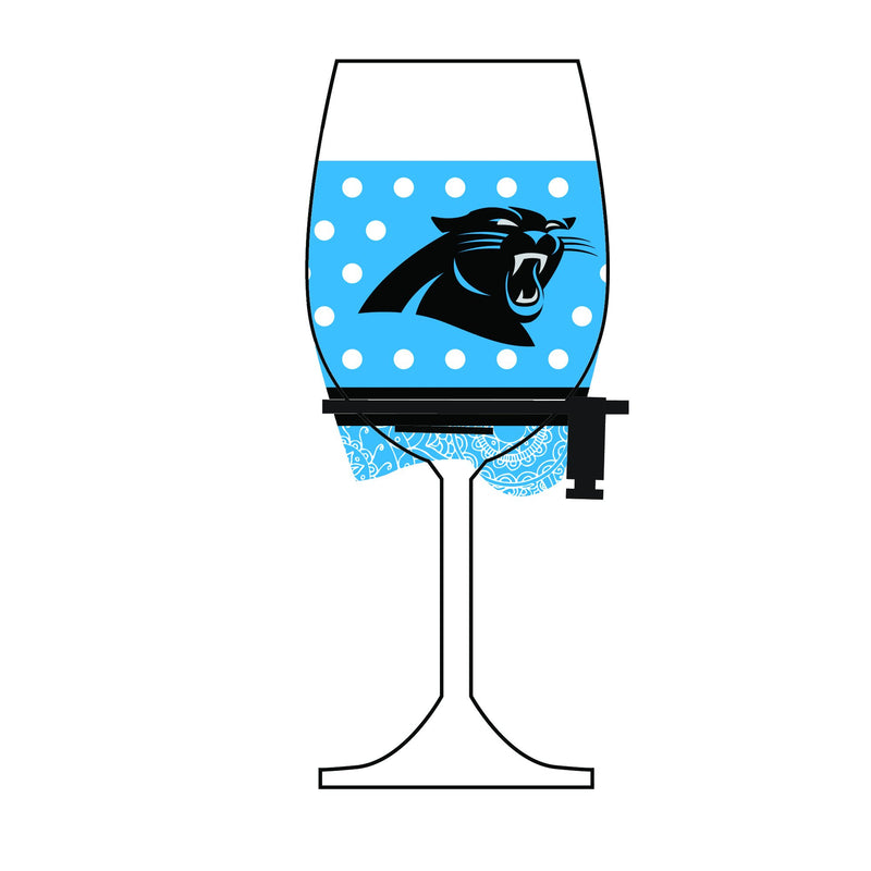 Wine Glass Woozie GG Panthers