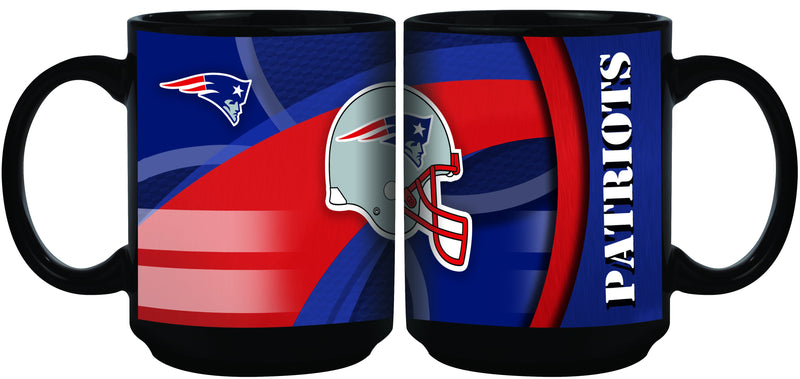 15oz Carbon Fiber Black | New England Patriots