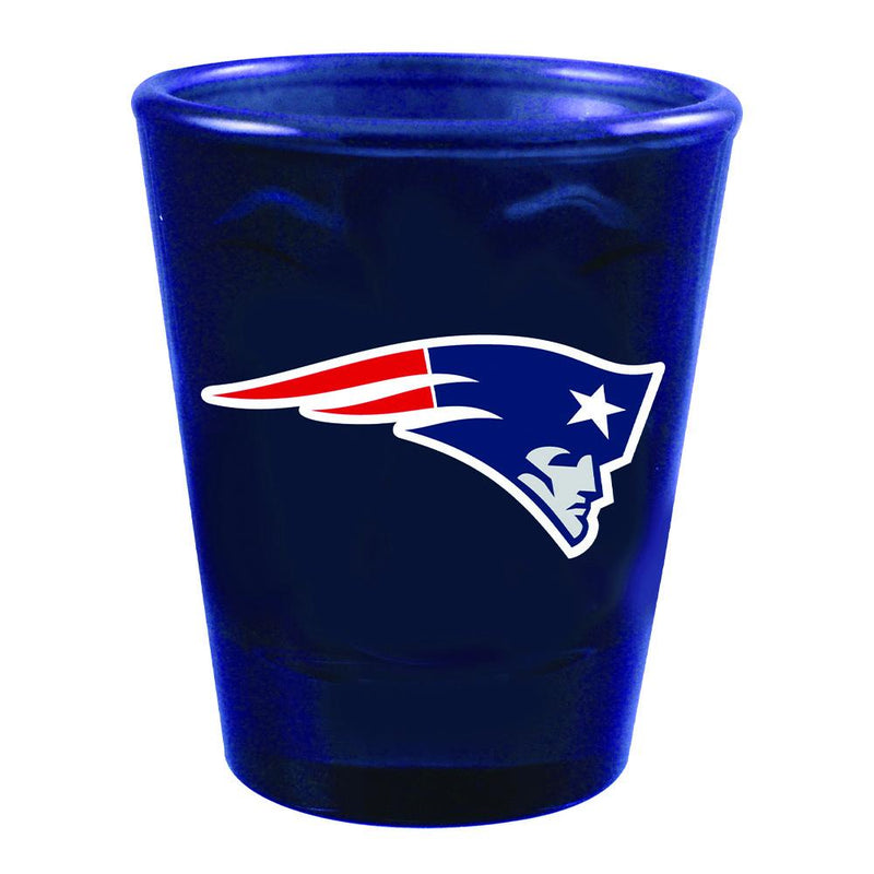 Swirl Clear Collect Glass | New England Patriots