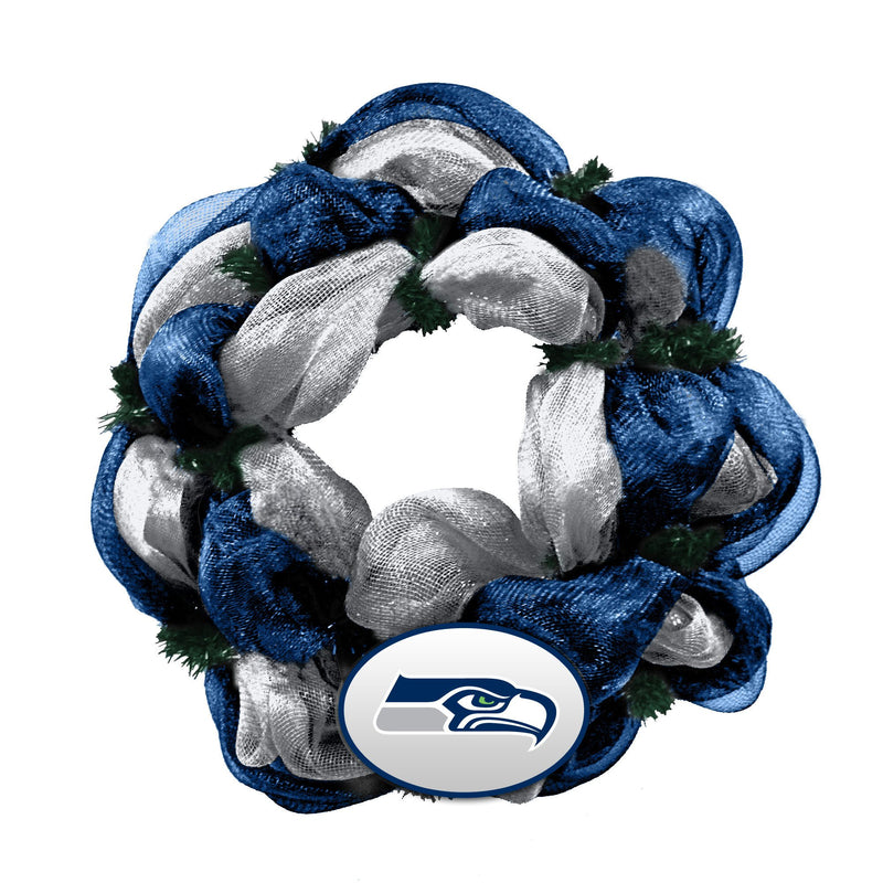 Mesh Wreath Seahawks