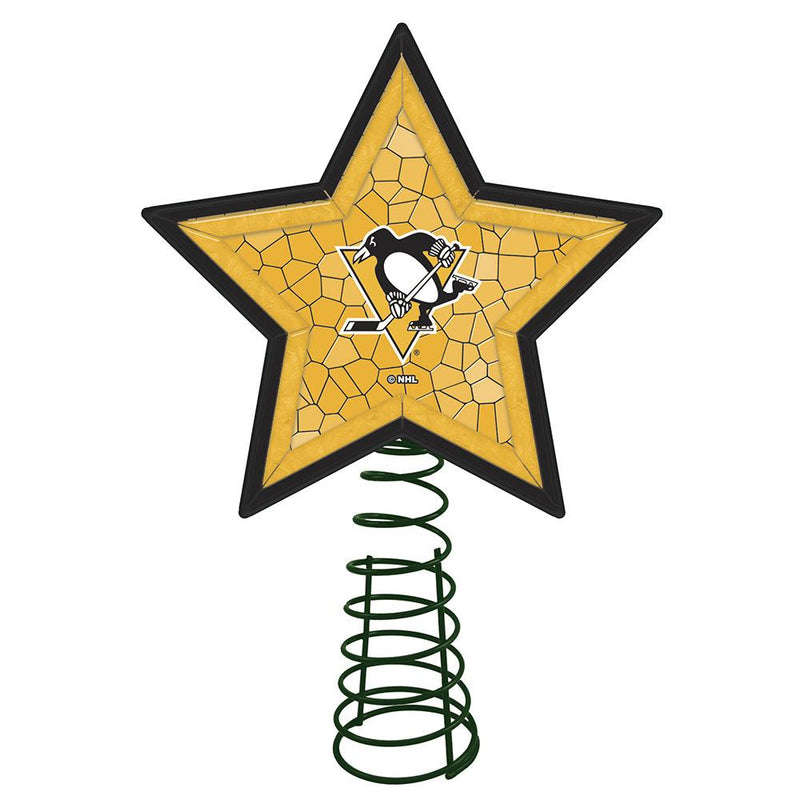Mosaic Tree Topper | Pittsburgh Penguins
