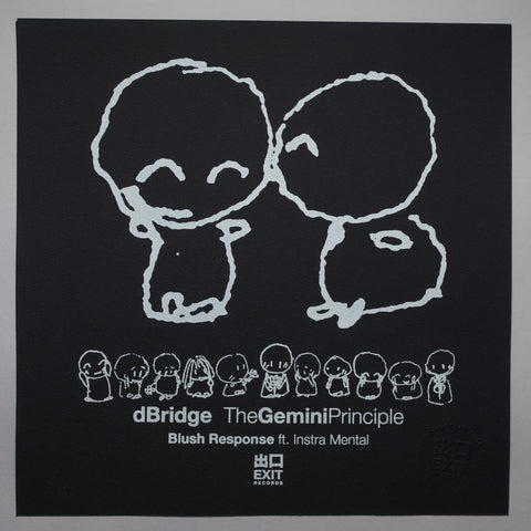 The Gemini Principle - dBridge & Instra:mental - Blush Response - Black [Print + Download]