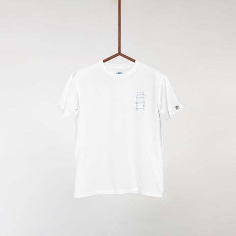EXITLIMITEDTEE005 Blue 'Design by Uno'