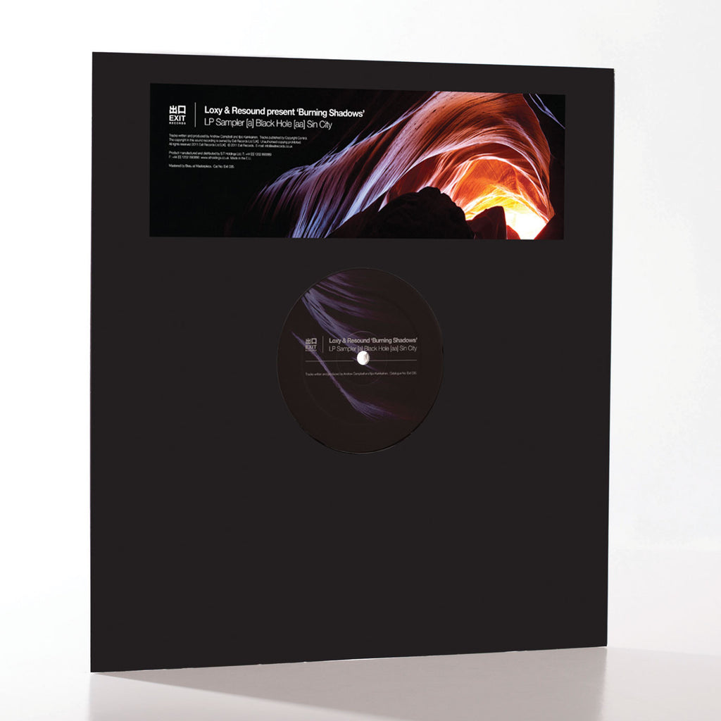 Exit035 - Loxy & Resound  'Burning Shadow LP Sampler'