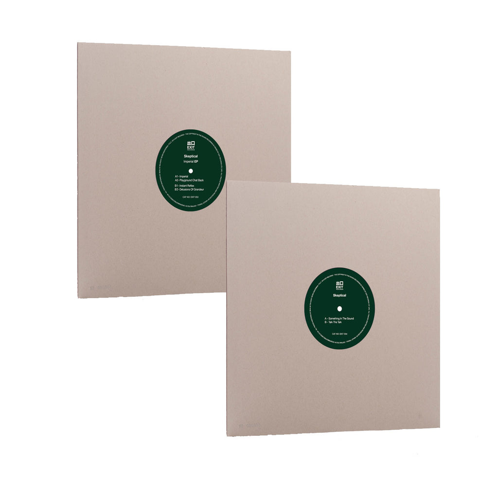"Exit053/054 - Skeptical Bundle 12"" 'Imperial EP' + 10"" (Vinyl Only)"