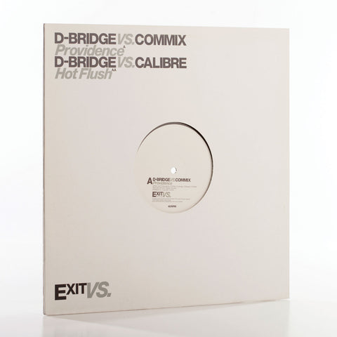 ExitVS002 - dBridge vs Commix / Calibre (Vinyl)