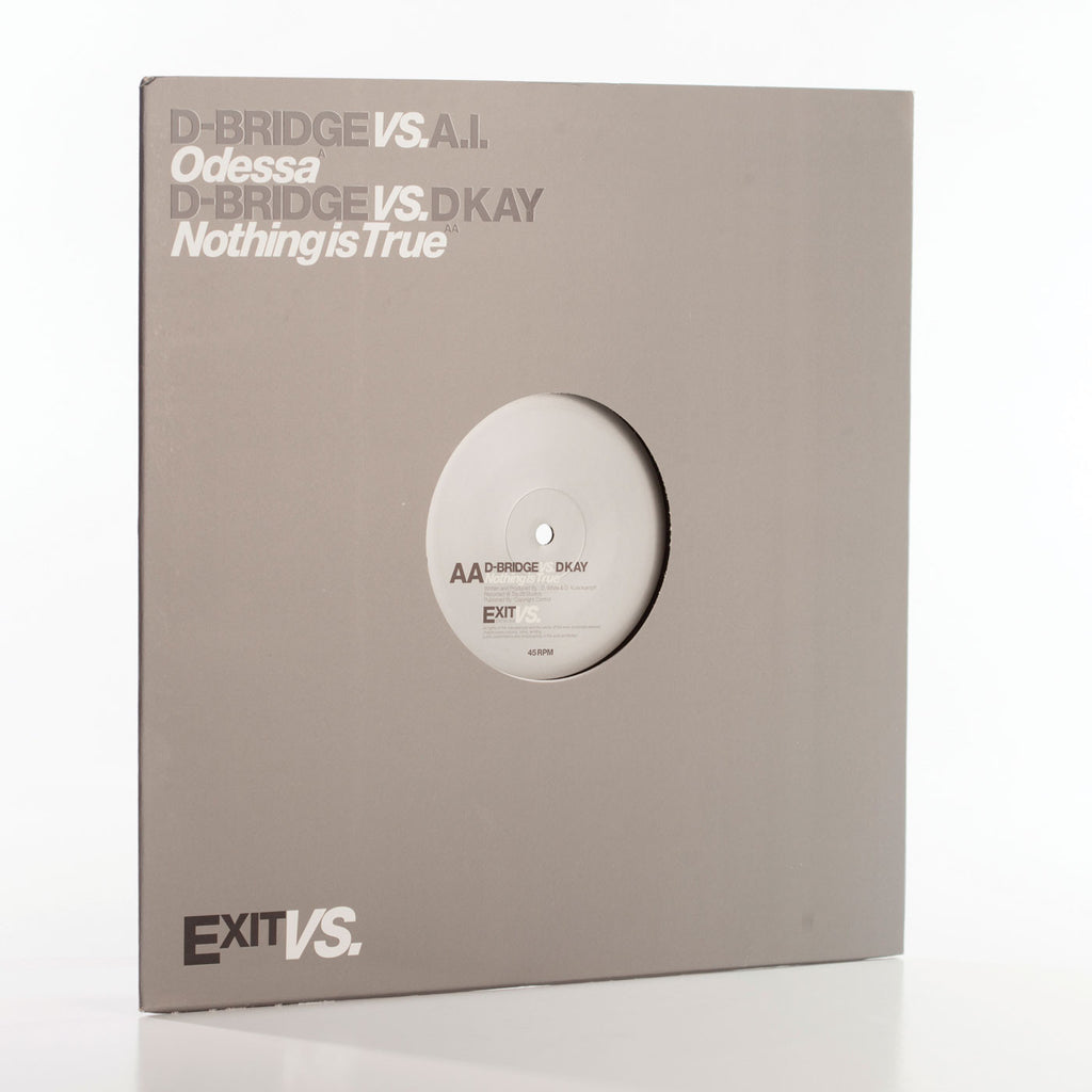 ExitVS003 - dBridge vs Artificial Intelligence / D Kay (Vinyl)