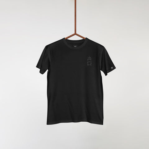 EXITLIMITEDTEE005 Black 'Design by Uno'
