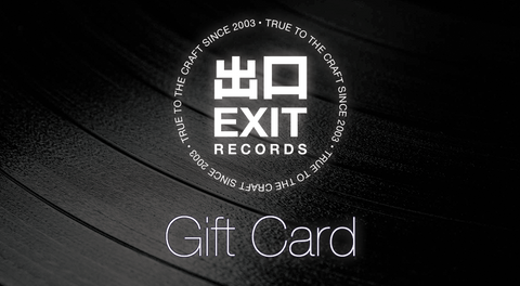 Exit Records Gift Card