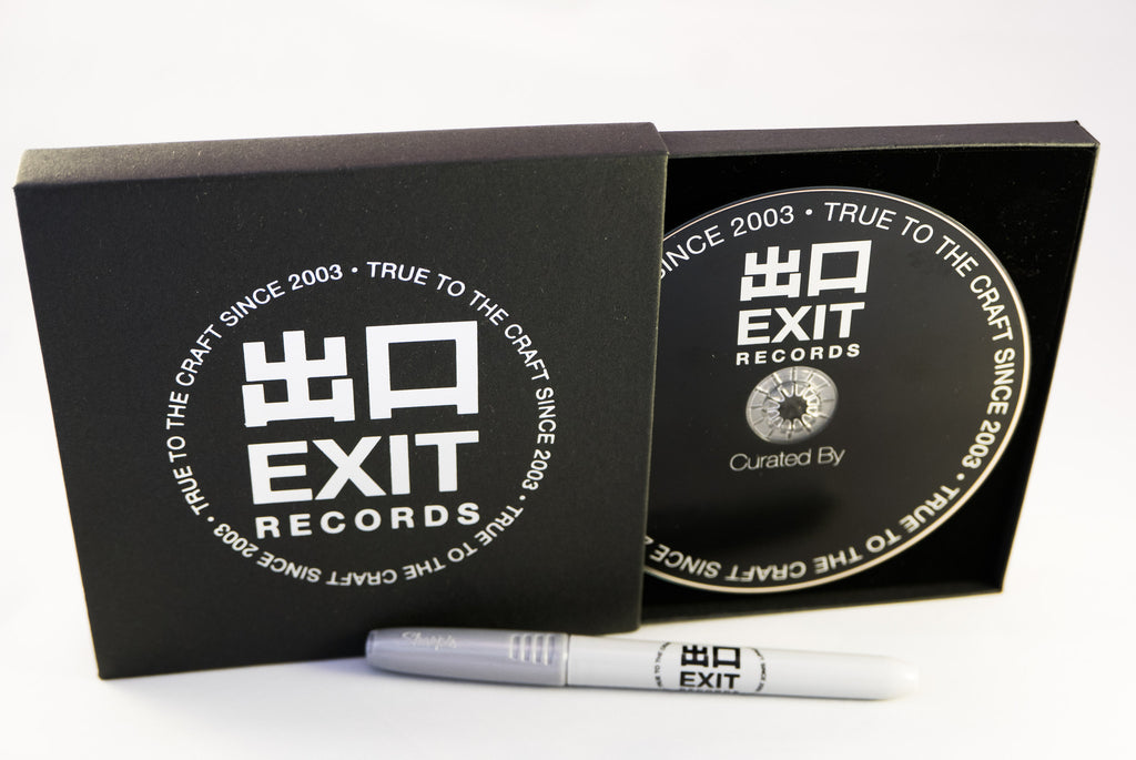 Exit Records self curated compilation CD (Limited to 300)