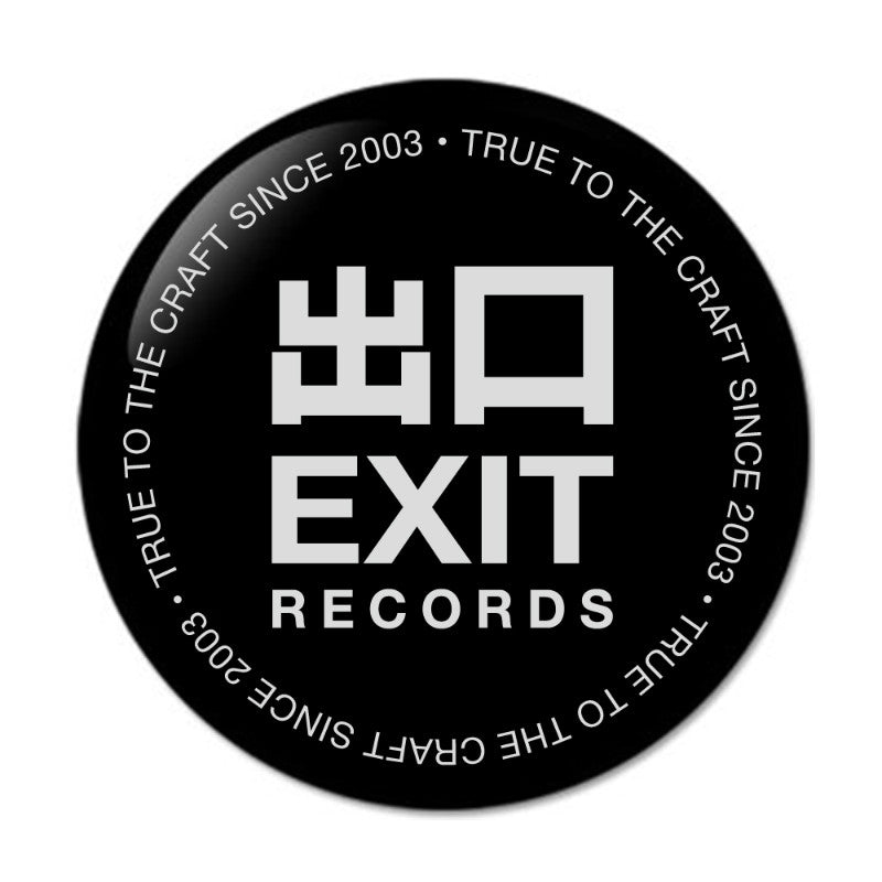 Exit Records Fridge Magnet