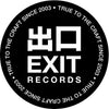 Exit Records Sticker Pack