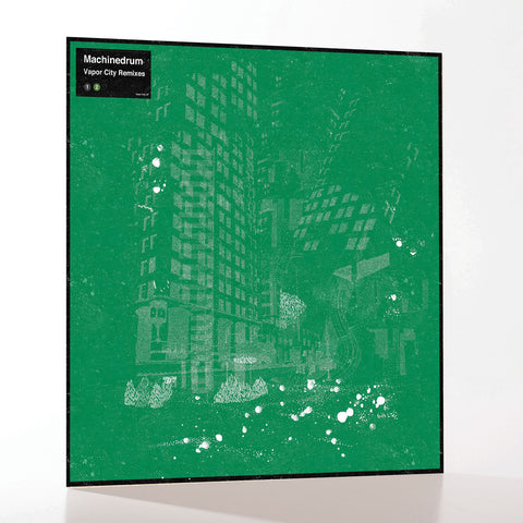 "Machinedrum 'Vapour City' Remixes 12"" (Limited Edition)"