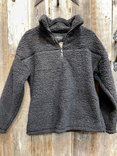 Load image into Gallery viewer, Sherpa Half Zip Pullover