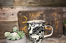 Load image into Gallery viewer, Karma Black & White Mugs