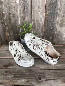 Cream Wildlife Sneakers