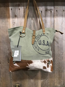 Myra USA Stamp Tote Bag