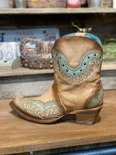 Load image into Gallery viewer, Corral Turquoise Switchable Ankle Boot