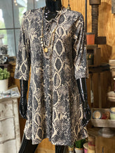 Load image into Gallery viewer, Vintage Snakeskin Tunic